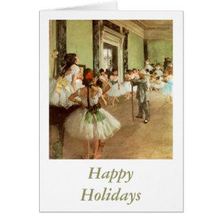 La Classe de Danse by Edgar Degas Greeting Card