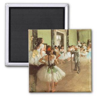 La Classe de Danse by Edgar Degas Magnet