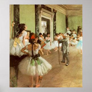 La Classe de Danse de Edgar Degas Póster