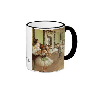 La Classe de Danse de Edgar Degas Taza A Dos Colores