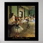 La Classe de Danse Degas Poster
