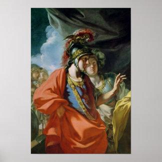 La clemencia de Alexander el grande Póster