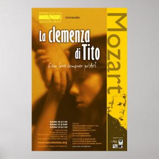 La Clemenza di Tito Posters