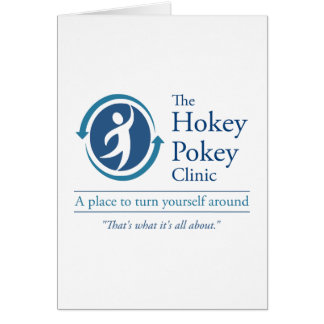 La clínica del Pokey de Hokey Tarjeta De Felicitación