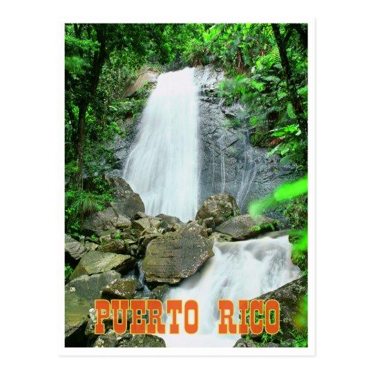 La Coca falls Postcard
