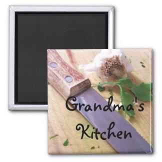 La cocina de la abuela del imán