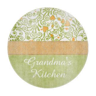 La cocina de la abuela personalizada tablas para cortar