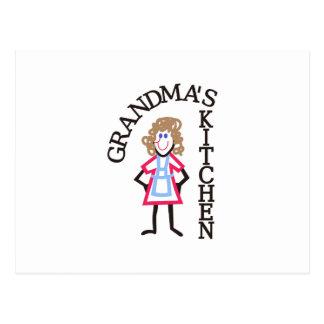 La cocina de la abuela tarjetas postales
