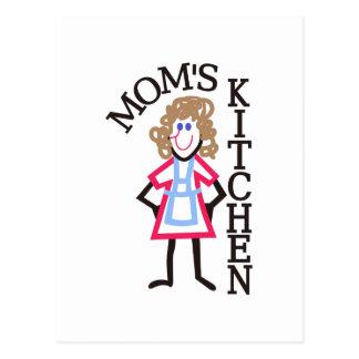 La cocina de la mamá tarjetas postales