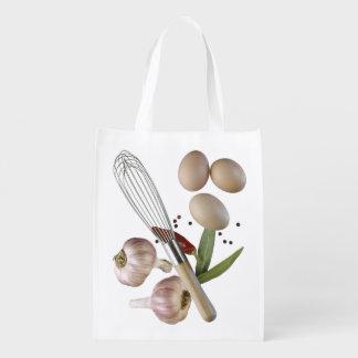 La cocina del cocinero bolsas reutilizables