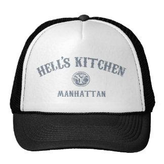 La cocina del infierno gorros bordados