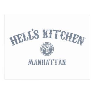 La cocina del infierno postales