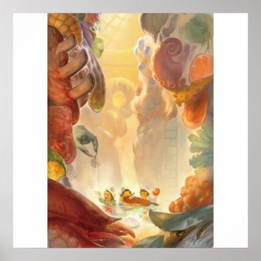 La cocina del titán póster