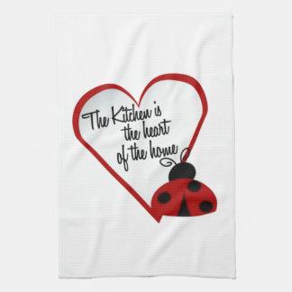 La cocina es el corazón de la toalla de cocina cas