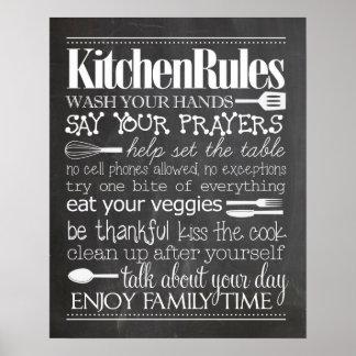 La cocina gobierna el poster