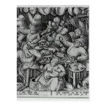 La cocina gorda de Pieter Bruegel la anciano Tarjetas Postales
