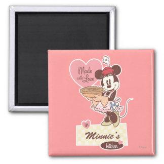 La cocina Minnie Mouse de Minnie Imán Cuadrado