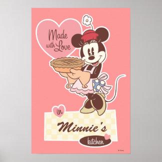 La cocina Minnie Mouse de Minnie Póster