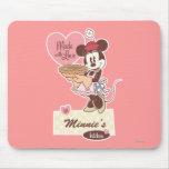 La cocina Minnie Mouse de Minnie Tapetes De Raton