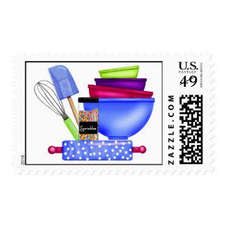 La cocina suministra sellos de la hornada