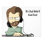 ¡La cogida de DJ con un buen golpe! - Invitación