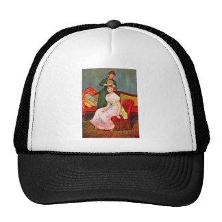 La coiffure by Pierre Renoir Mesh Hats