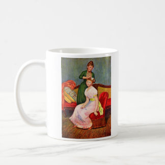 La coiffure by Pierre Renoir Classic White Coffee Mug
