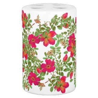 La col botánica subió florece floral sets de baño