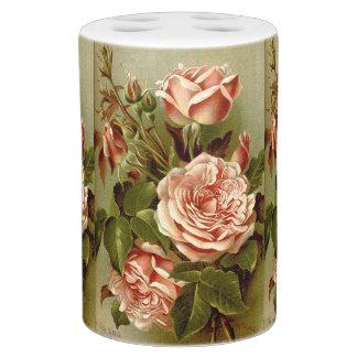 La col subió el sistema del baño de las flores accesorios de baño