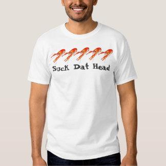 la cola del dat del pellizco de los cangrejos camisas