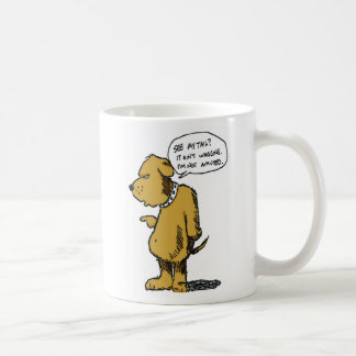 La cola no está meneando la taza de café