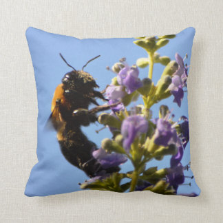 La colección animal - manosee dual de la abeja cojin