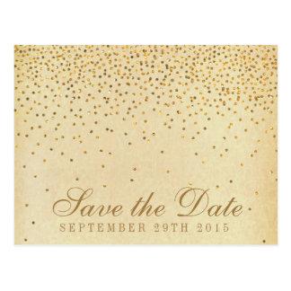La colección atractiva del boda del confeti del postales