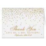 La colección atractiva del boda del confeti del tarjeta pequeña