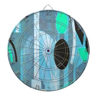 La colección azul del art déco tabla dardos