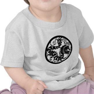 La colección china del zodiaco - el dragón camiseta
