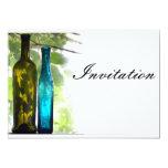 La colección de cristal Invite02 Invitación 12,7 X 17,8 Cm