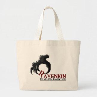 La colección de la garra de Ravenkin Bolsa Tela Grande