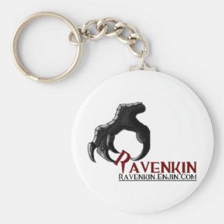 La colección de la garra de Ravenkin Llavero Redondo Tipo Pin