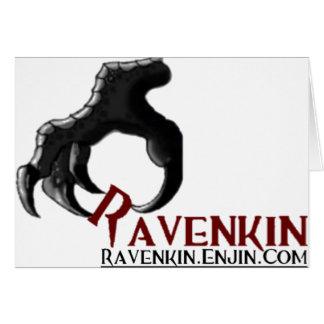 La colección de la garra de Ravenkin Tarjeta De Felicitación