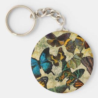 La colección de la mariposa llaveros