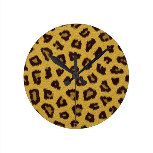 La colección de la piel - leopardo reloj