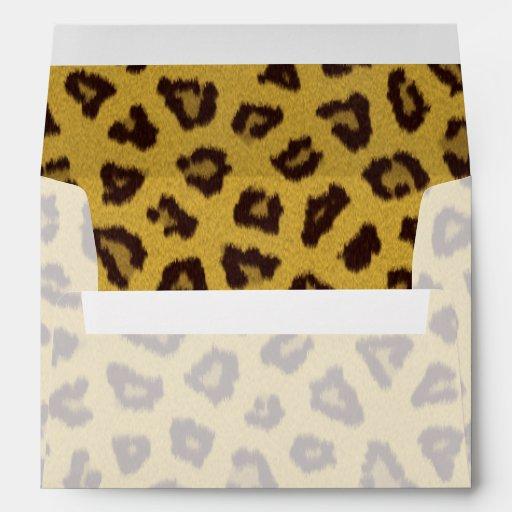 La colección de la piel - leopardo sobre