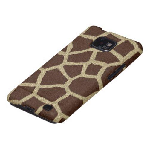 La colección de la piel - piel de la jirafa galaxy s2 carcasas