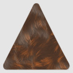 La colección de la piel - piel del calicó pegatina trianguloada