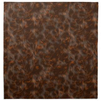 La colección de la piel - piel del calicó servilletas