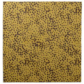 La colección de la piel - piel del guepardo servilletas de papel