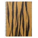 La colección de la piel - tigre cuaderno