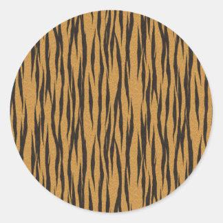 La colección de la piel - tigre etiquetas