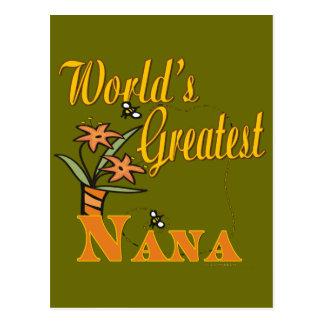 La colección de Nana Tarjeta Postal
